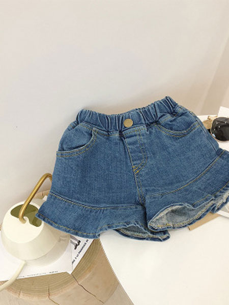 CHEERIO KIDS童装品牌2019春夏儿童牛仔短裤