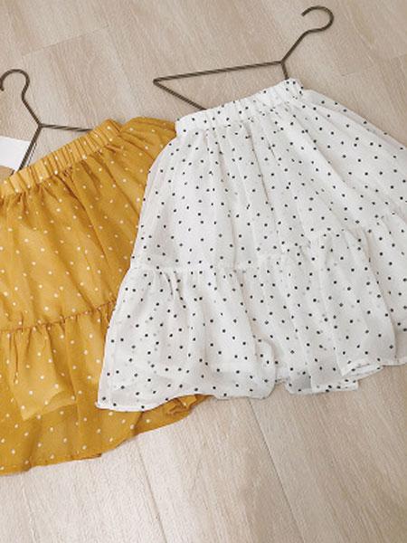 CHEERIO KIDS童装品牌2019春夏女童圆点半身裙
