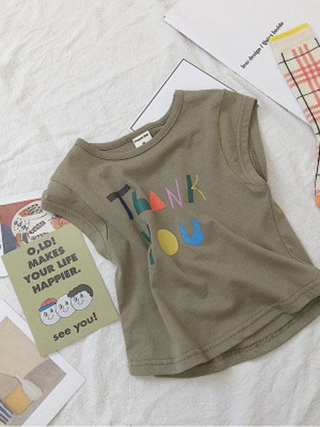 CHEERIO KIDS童装品牌2019春夏纯棉头像印花t恤