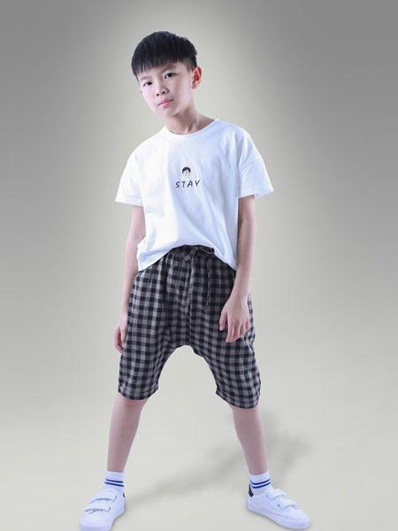 象样童年童装品牌2019春夏休闲时尚套装