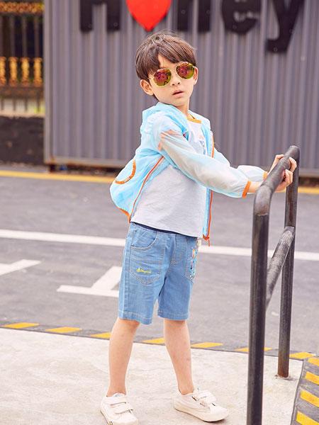 麦吉安琪童装品牌2019春夏皮肤衣防晒衣透气空调外套