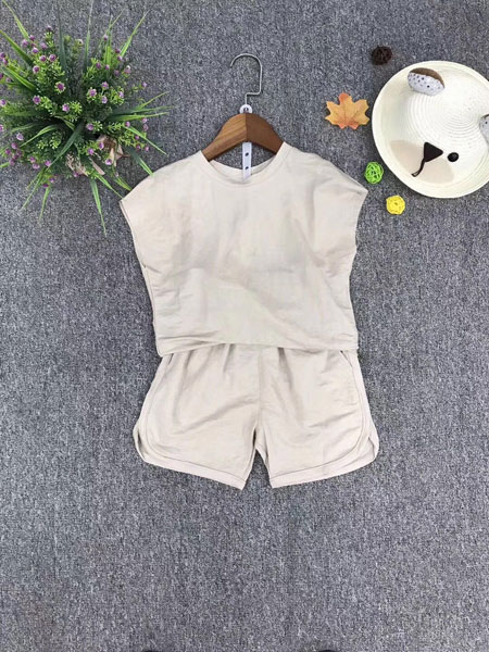 品牌童装巴拉巴拉童装品牌2019春夏韩版时尚套装