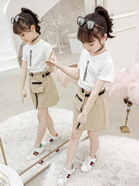 童品壹仓童装品牌2019春夏休闲时尚套装