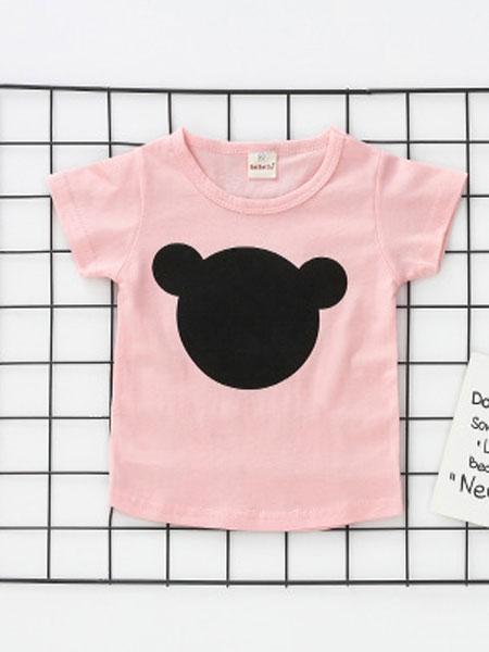 贝贝谷 beibei valley童装品牌2019春夏全棉短袖儿童T恤