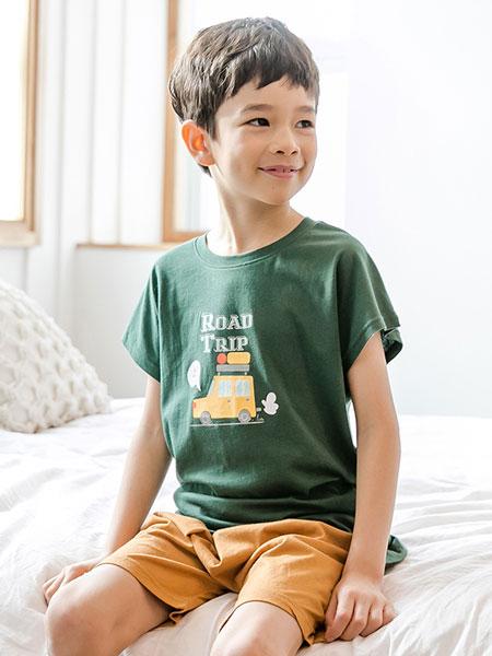 LINTTO邻家兔子童装品牌2019春季休闲套装家居服