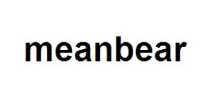 meanbear