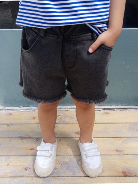菲首童屋童装品牌2019春夏儿童牛仔裤