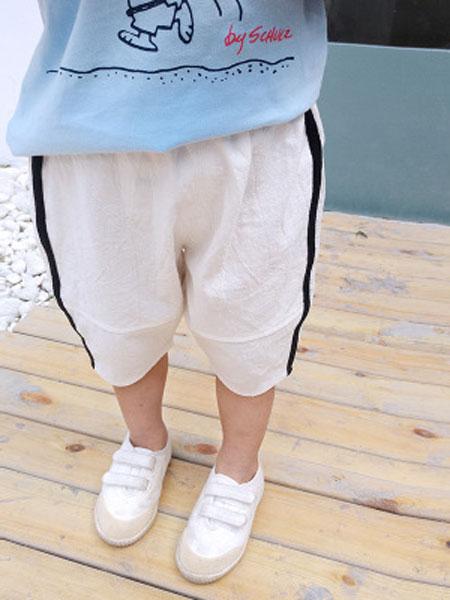 菲首童屋童装品牌2019春夏时尚休闲裤