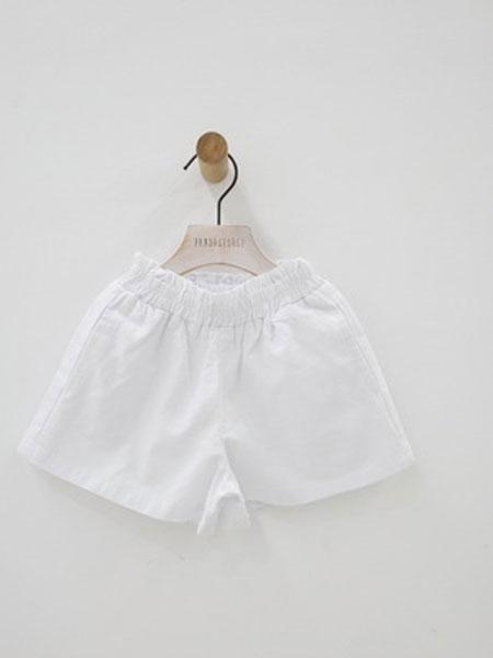 inssogar童装品牌2019春夏儿童休闲宽松短裤