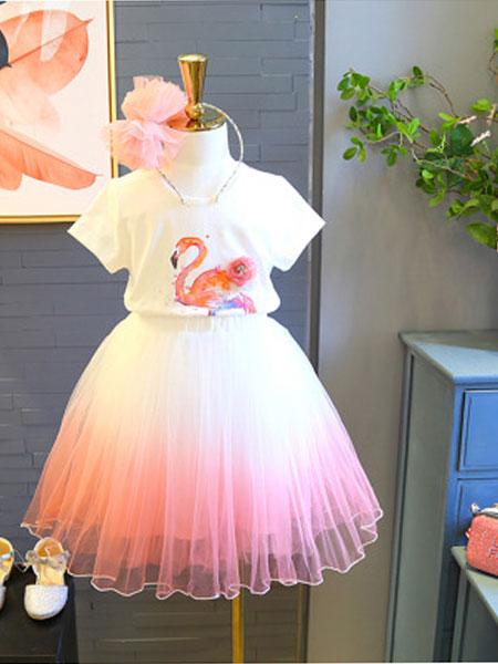 静依童装品牌2019春夏时尚连衣裙