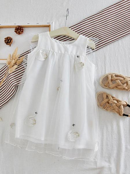 静依童装品牌2019春夏韩版时尚连衣裙