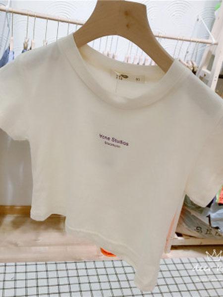亲爱的小孩童装品牌2019春夏韩版打底衫中小童百搭上衣