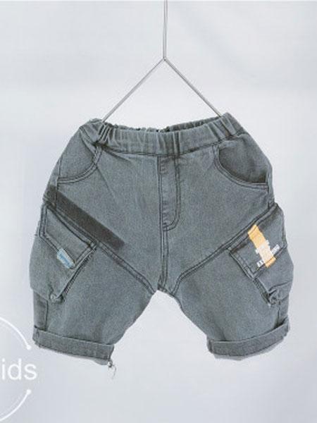 亲爱的小孩童装品牌2019春夏儿童时尚短裤