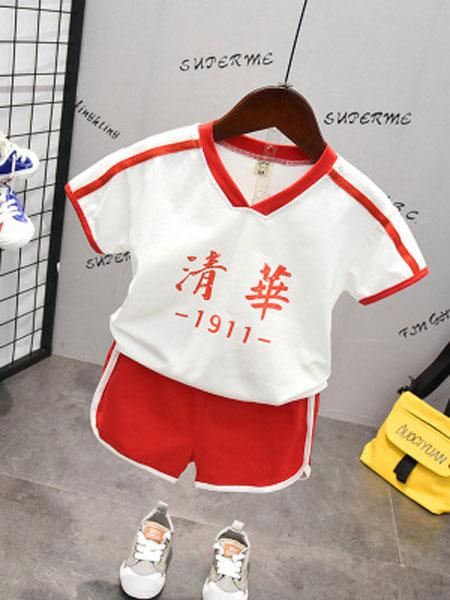 CHIUYA/钊溢童装品牌2019春夏短袖+短裤套装