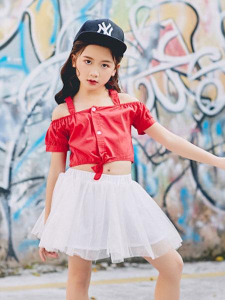 倍芘爱童装品牌2019春夏儿童嘻哈街舞衣服