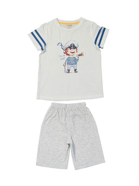 梦洁宝贝童装品牌2019春夏儿童休闲童装