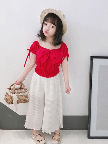 锦瑞祥童装品牌2019春夏儿童休闲套装