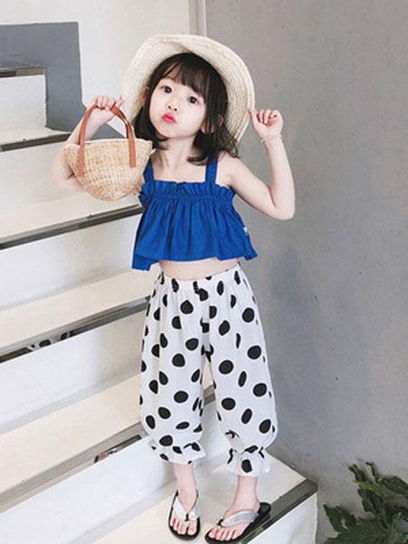 锦瑞祥童装品牌2019春夏休闲波点童装