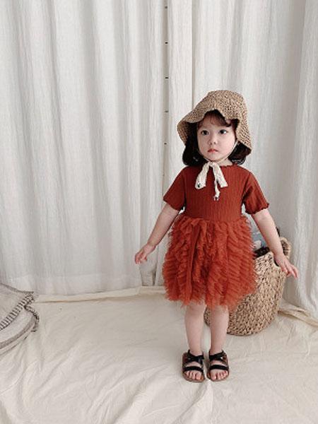童尛童装品牌2019春夏超洋气公主网纱裙