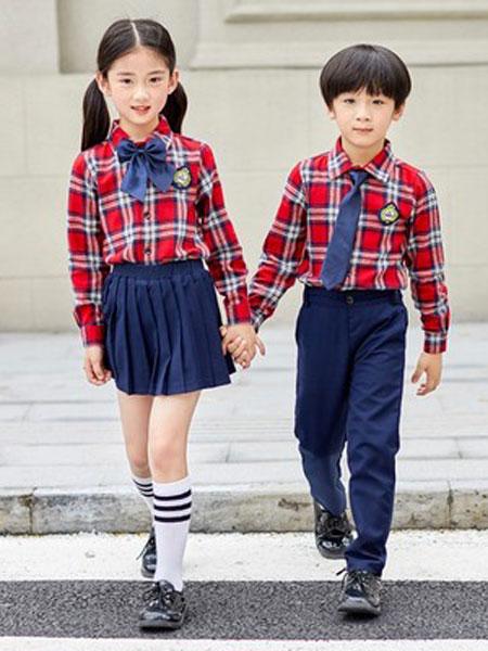 佐岸园服童装品牌2019春夏中大童校服园服套装