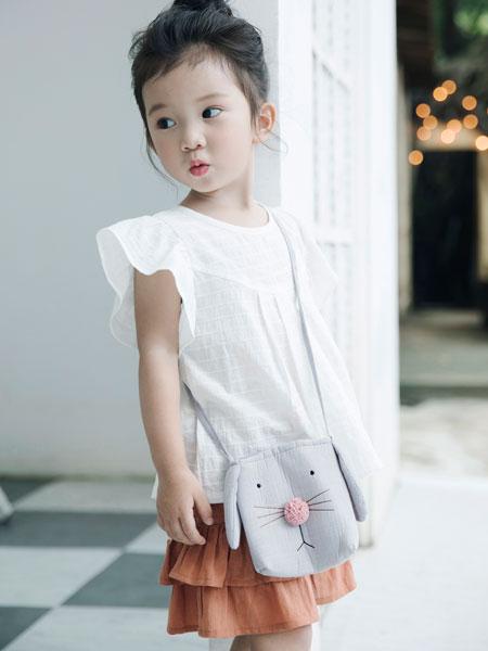 棉绘童装品牌2019春夏时尚花边时尚上衣