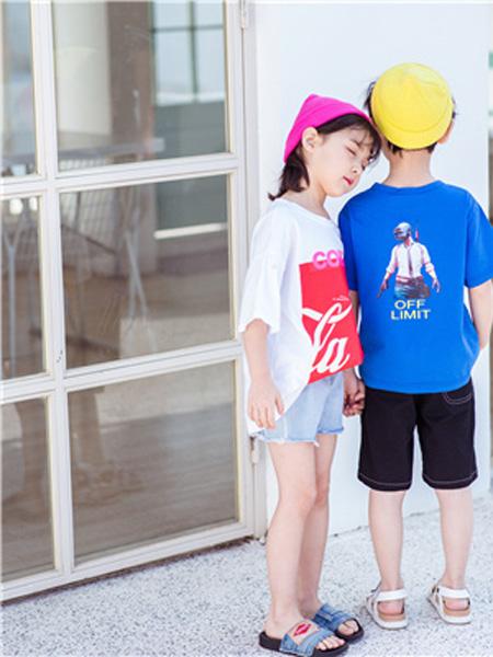 花田彩 丫噜丫噜 大c童装夏季新品 让宝贝萌萌出街