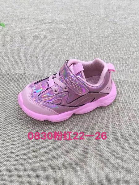 RAINBOWBEAR彩虹熊童鞋品牌2019春夏运动鞋透气休闲童鞋