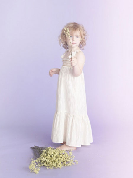 LOUIS LOUISE童装品牌2019春夏女童流苏吊带长裙