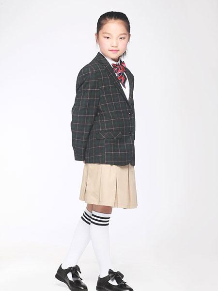 帝峰萨顿童装品牌2019春夏韩版中大童班服套装