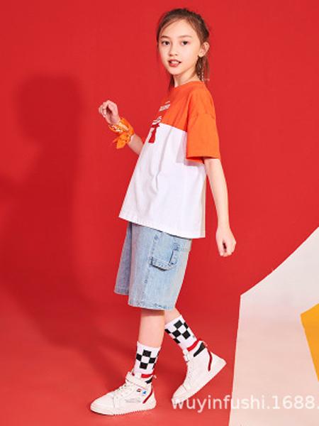 戊寅童装品牌2019春夏新款儿童街舞套装六一少儿hiphop街舞服表演潮装