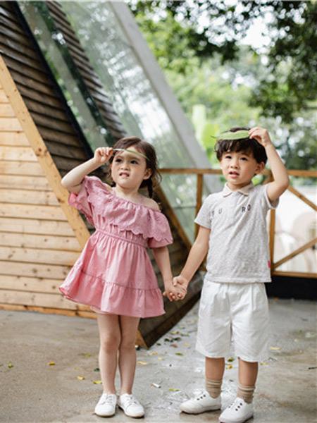 欧恰恰童装品牌2019春夏新款韩版时尚简约百搭短袖T恤