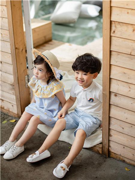 欧恰恰童装品牌2019春夏新款韩版时尚宽松休闲印花短袖T恤