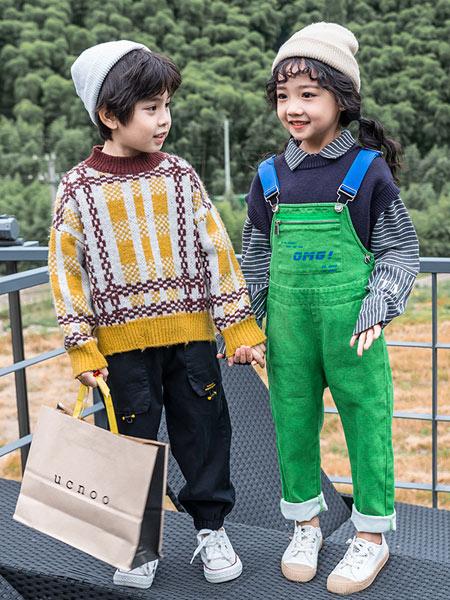 木朵爸爸童装品牌2019秋季新款洋气韩版休闲可爱背带裤