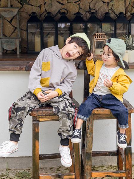 木朵爸爸童装品牌2019秋季新款韩版休闲裤中大童洋气裤子潮
