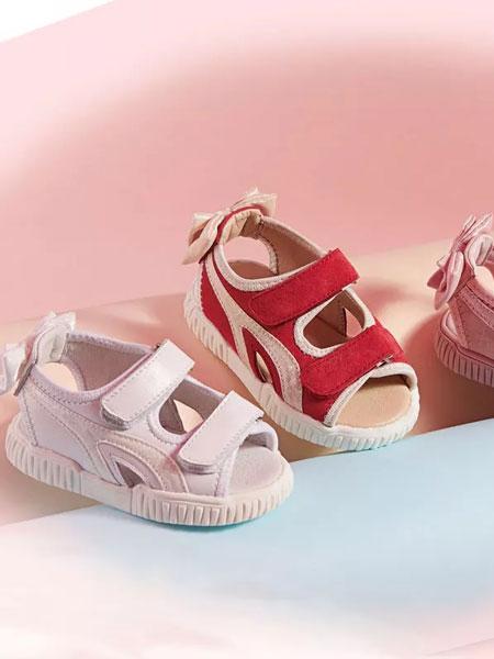 诺米洛童鞋品牌2019春夏儿童凉鞋软底学步鞋