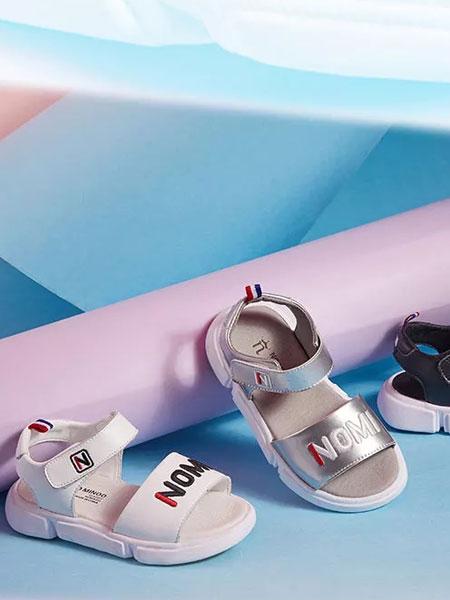 诺米洛童鞋品牌2019春夏复古休闲运动沙滩凉鞋拖鞋