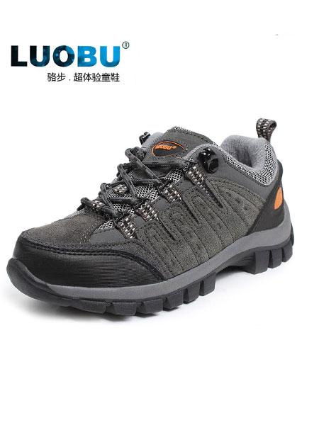 骆步童鞋品牌2019春夏户外休闲运动防滑防水低帮越野鞋