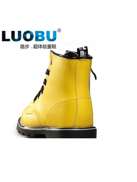骆步童鞋品牌2019春夏新款小清新时尚休闲靴