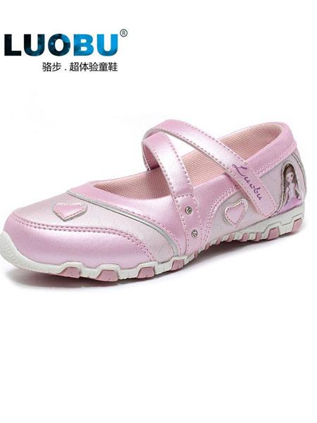 骆步童鞋品牌2019春夏单鞋运动休闲框子女童鞋