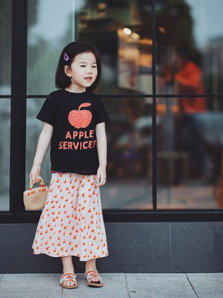 米优国际童装品牌2019春夏新款韩版时尚休闲百搭短袖T恤