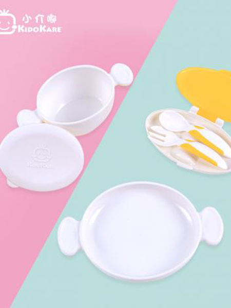 小介嘟童装品牌2019春夏儿童餐具收纳盒组合