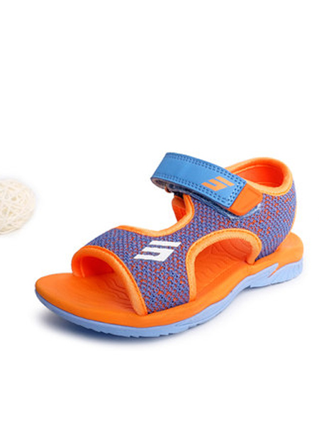 斯乃纳童鞋品牌2019春夏新款休闲透气凉鞋软底沙滩鞋