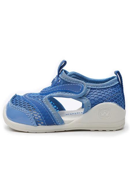 斯乃纳童鞋品牌2019春夏新款包头鞋子软底学步鞋