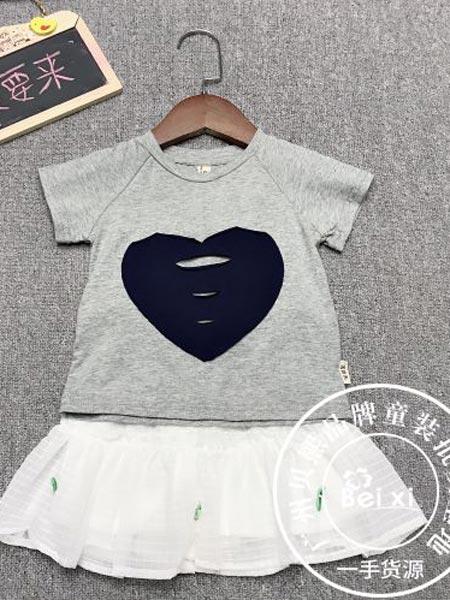 贝熙童装品牌2019春夏新款韩版时尚洋气休闲套装