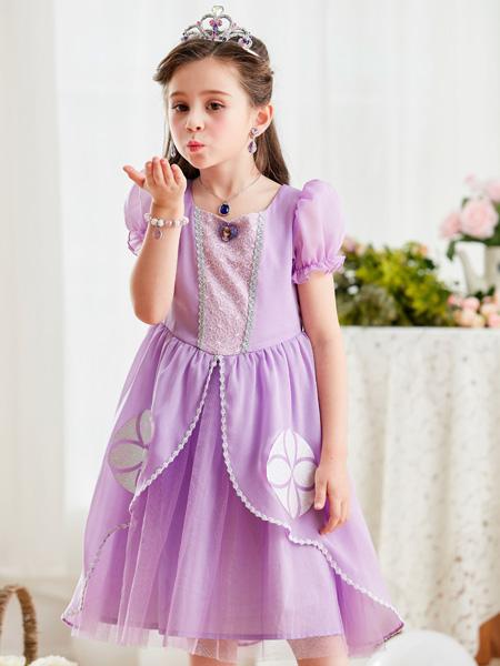 迪士尼公主裙童装品牌索菲亚公主裙