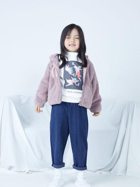 籽芽之家童装品牌2019秋冬宽松显瘦百搭针织毛衣外套