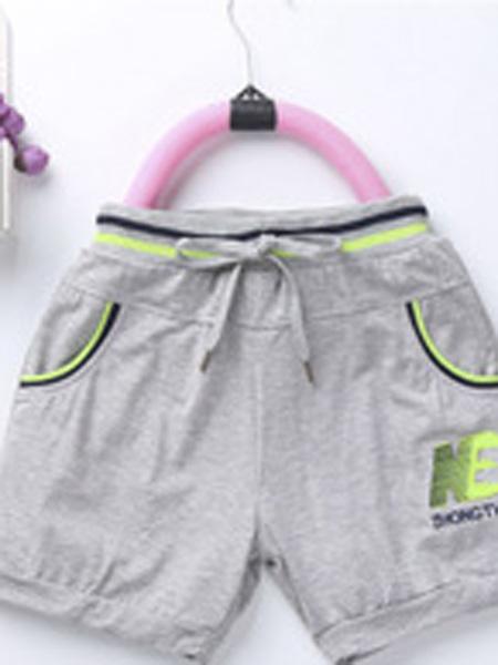 中童旺童装品牌2019春夏休闲短裤