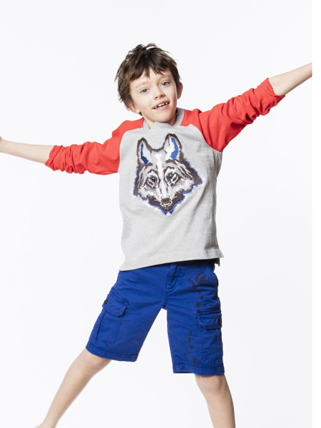 Zadig & Voltaire童装品牌2019春夏动物印花上衣
