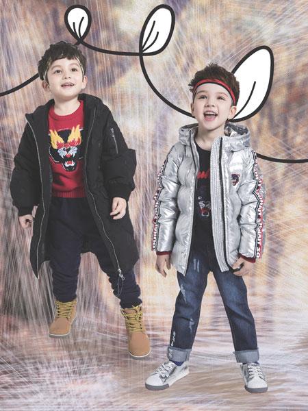 水孩儿souhait童装品牌2019秋冬加厚棉服儿童中长款棉袄中大童韩版外套