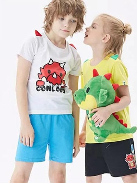 安逸猿情侣亲子装   给孩子自然真切的呵护